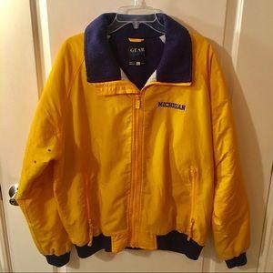 Gear Yellow & Blue Michigan Jacket Size L